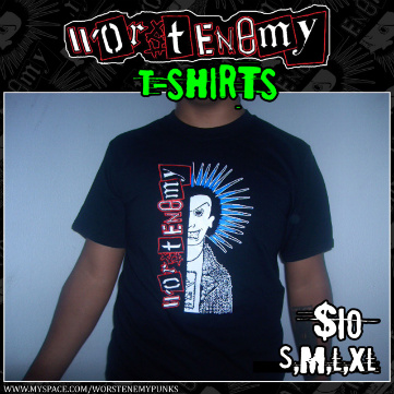 Worst Enemy T-shirt