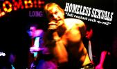 "HOMELESS SEXUALS ""full contact rock -n- roll"""